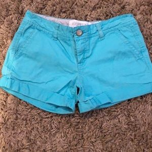 Light blue jean shorts with real pockets